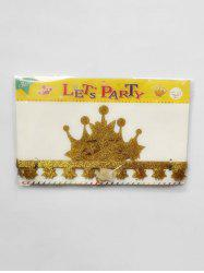 Party Decor Star and Crown Pattern Tiara -