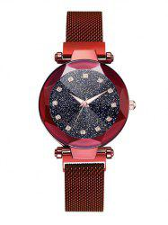 Rhinestone Decoration Alloy Strap Watch -