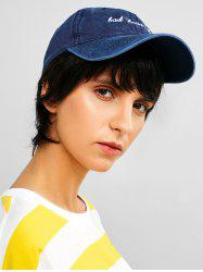 Embroidered Sporty Baseball Cap -