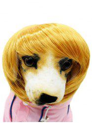 Pet Headwear Dog Synthetic Wig -