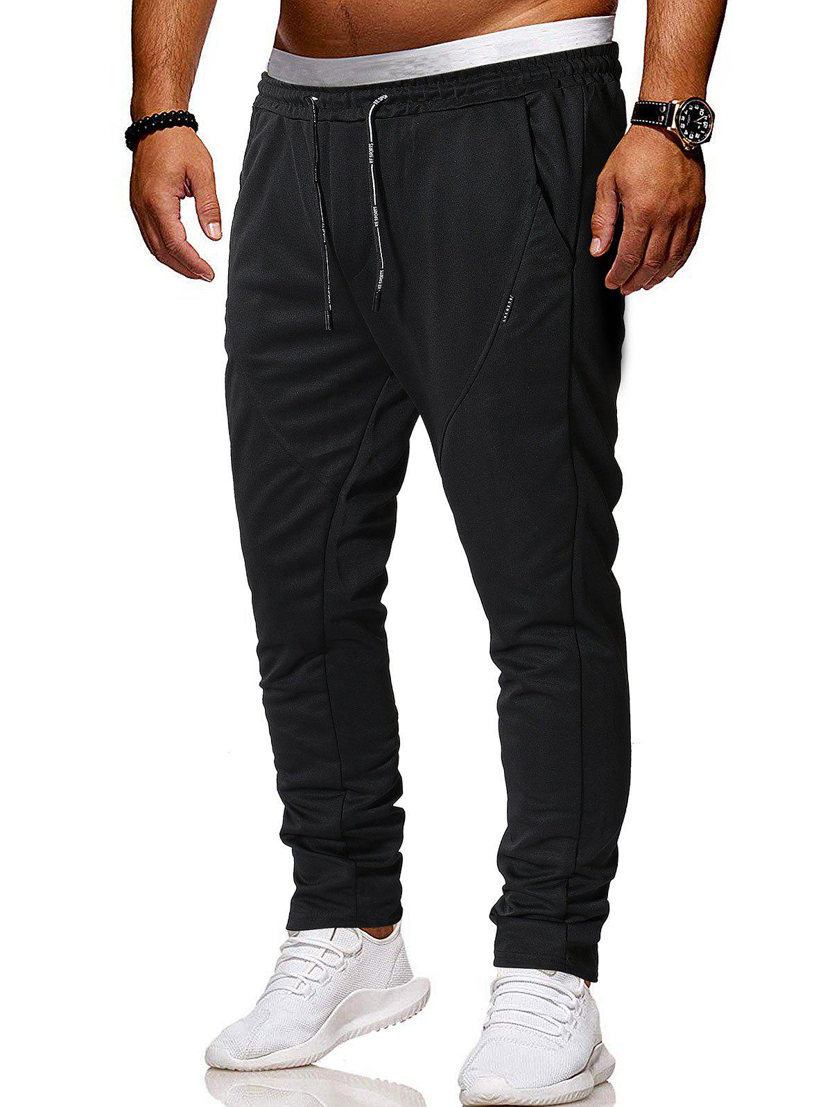 Best Solid Color Drawstring Casual Pants