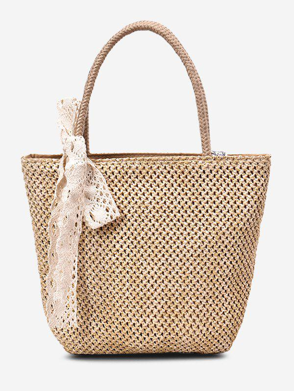 Chic Casual Portable Straw Bag