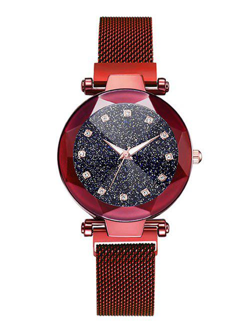 Cheap Rhinestone Decoration Alloy Strap Watch