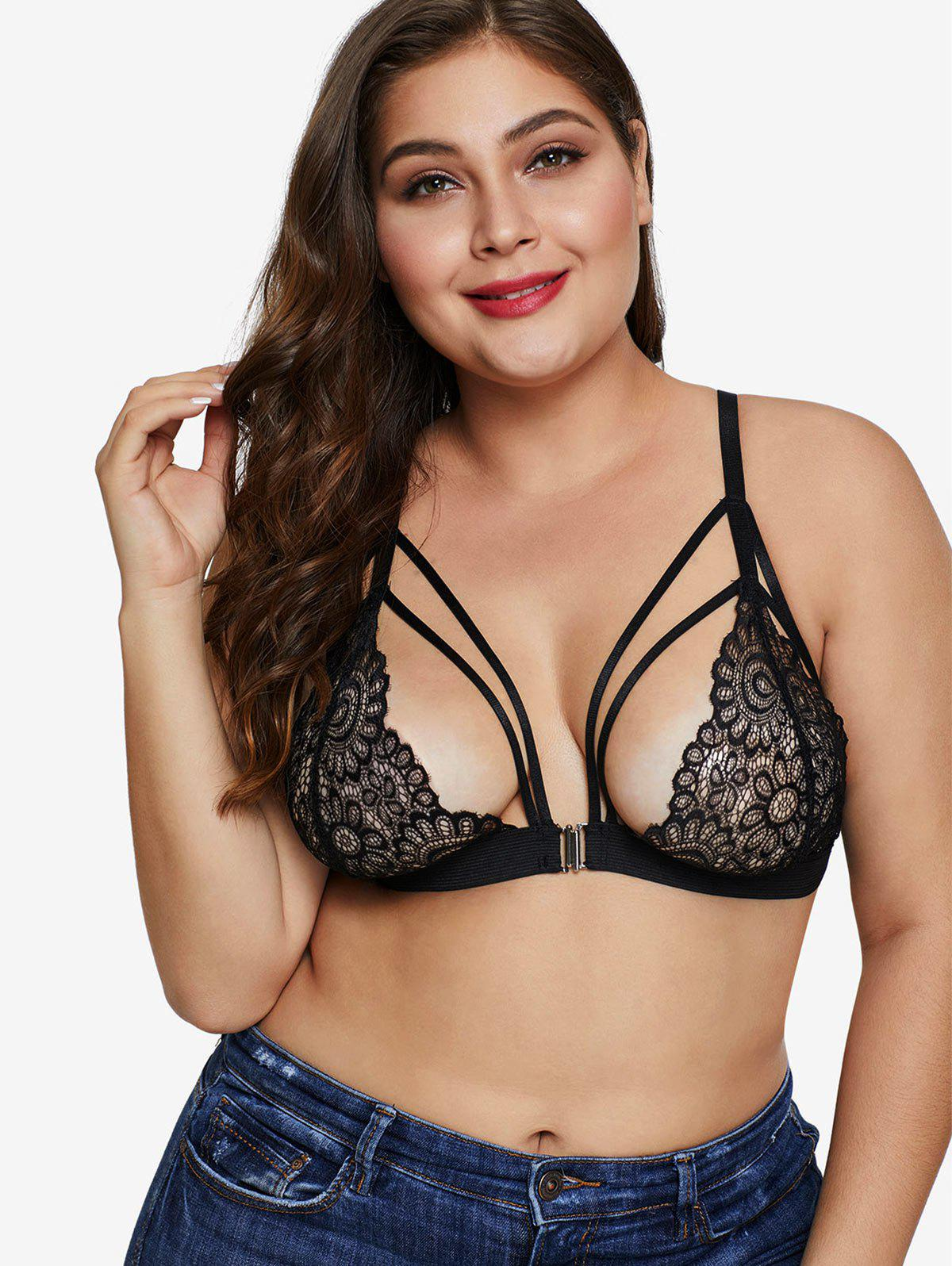 Outfit Unlined Plus Size Lace Bra