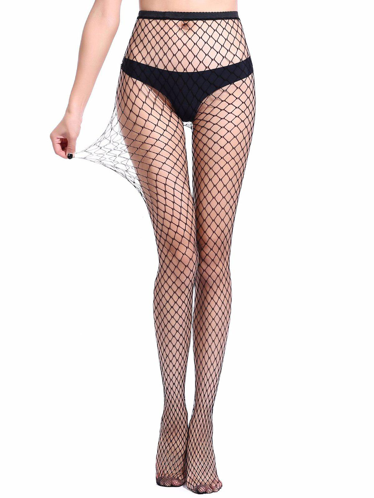 Sale Hollow Mesh Fishing Net Pantyhose