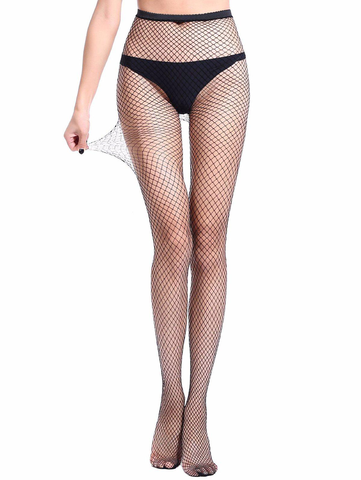 Shops Hollow Mesh Fishing Net Pantyhose