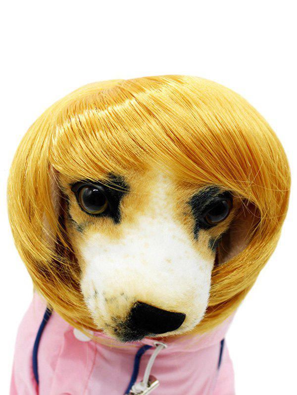 Cheap Pet Headwear Dog Synthetic Wig