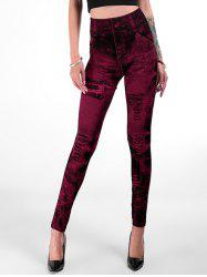 High Rise Fitted Jeggings -