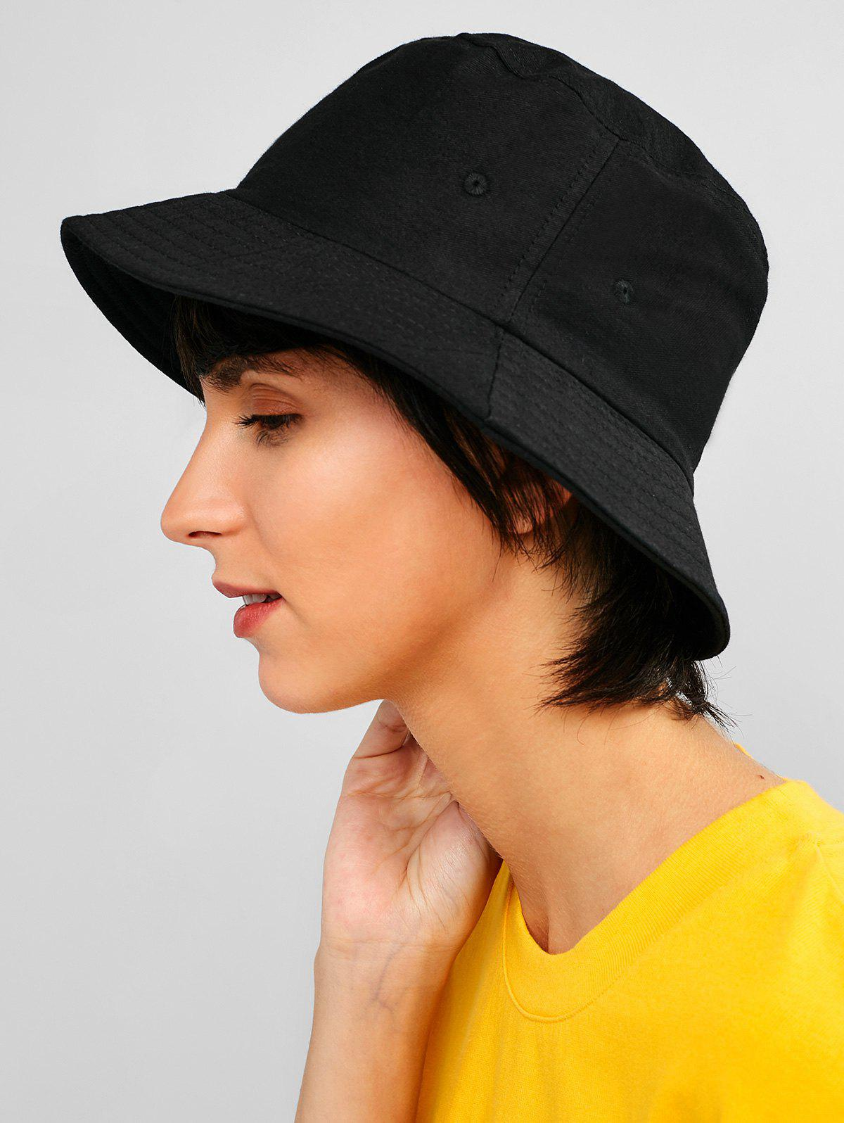 33fadfeb943e7 Affordable Casual Solid Bucket Hat