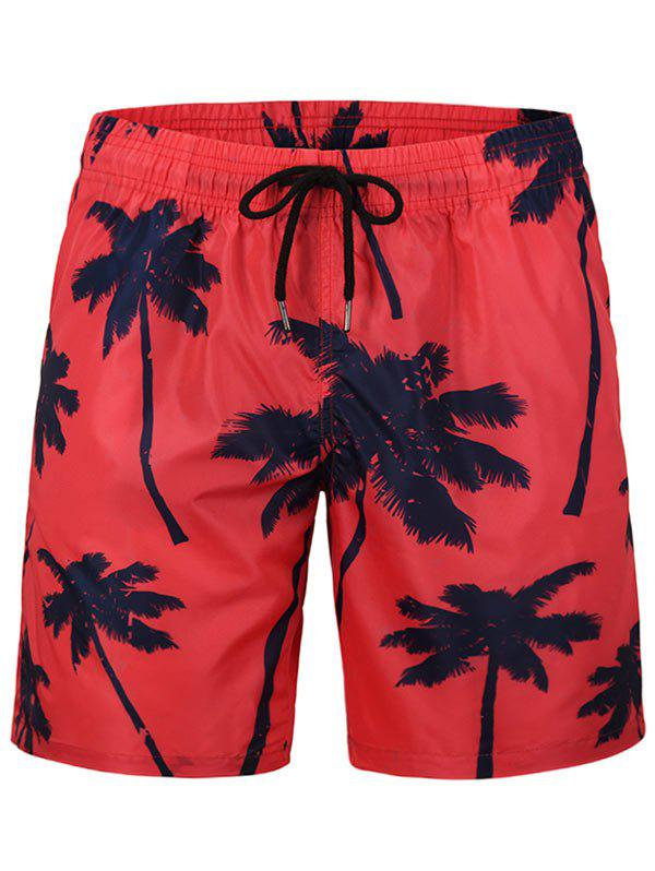 Best Coconut Tree Printed Board Shorts