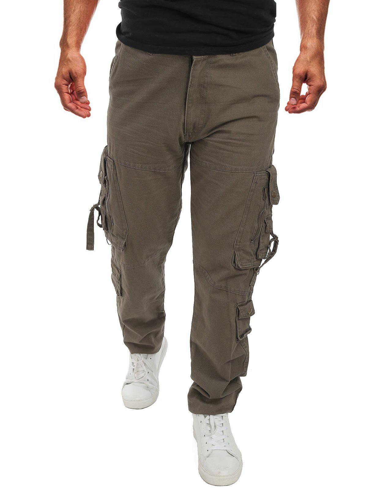 Affordable Pocket Decoration Casual Cargo Pants