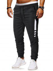 Pantalon de Jogging à Cordon Design -