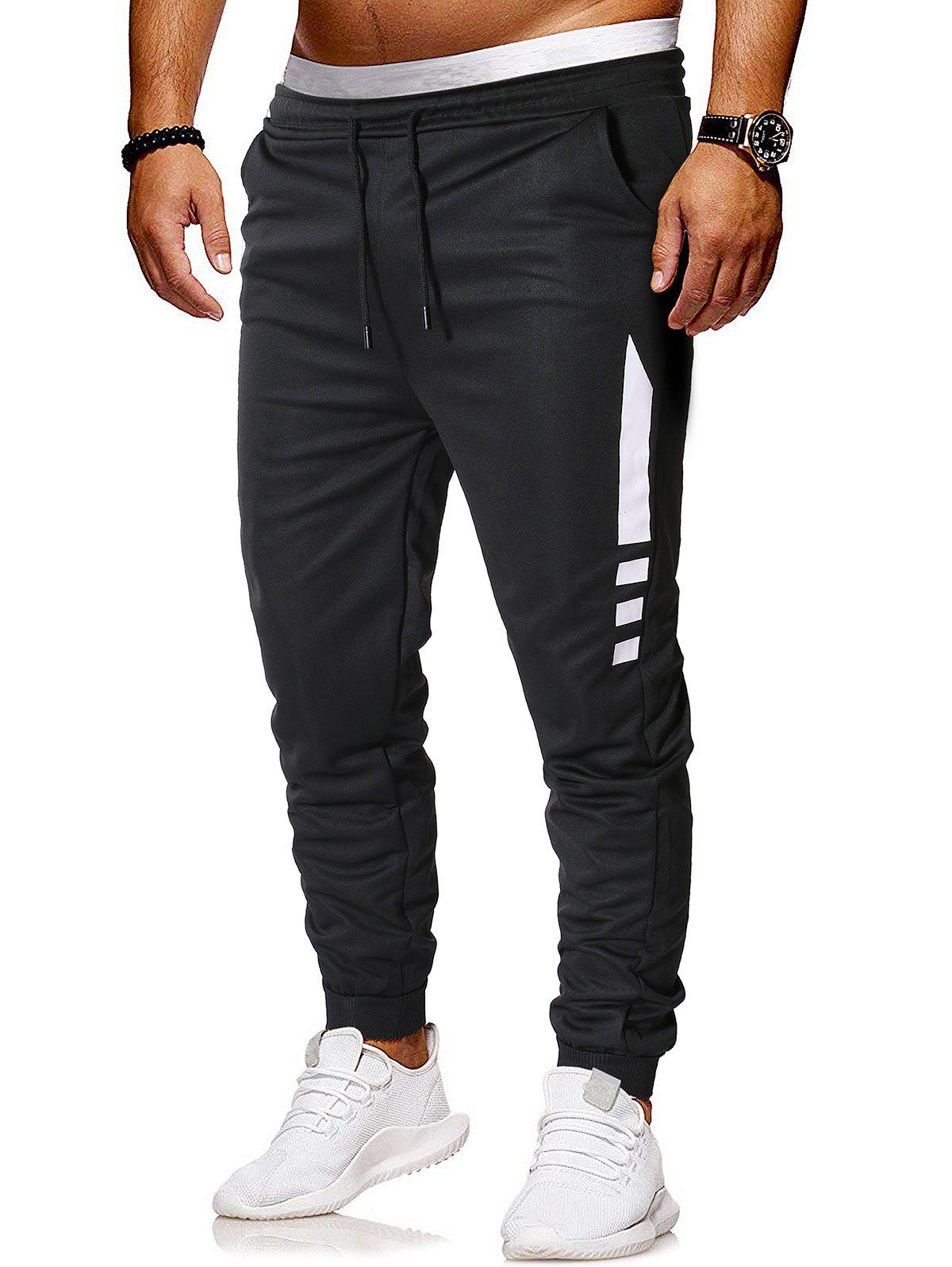 Pantalon de Jogging à Cordon Design