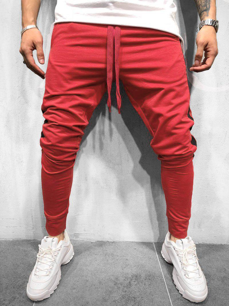 Discount Drawstring Decoration Casual Jogger Pants