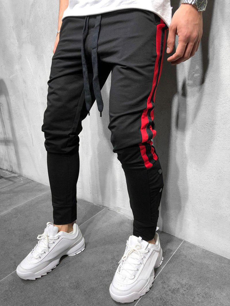 Sale Drawstring Decoration Casual Jogger Pants