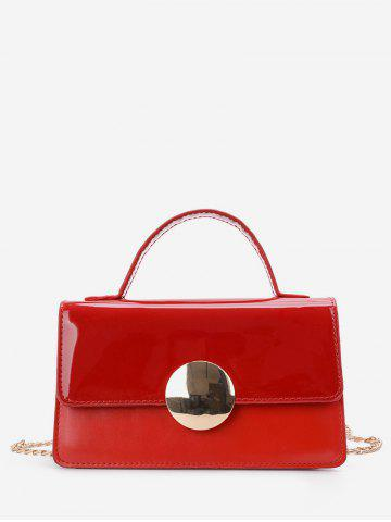 Luxury Leather Chain Square Shoulder Bag