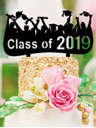Class of 2019 Cake Sign Decoration -