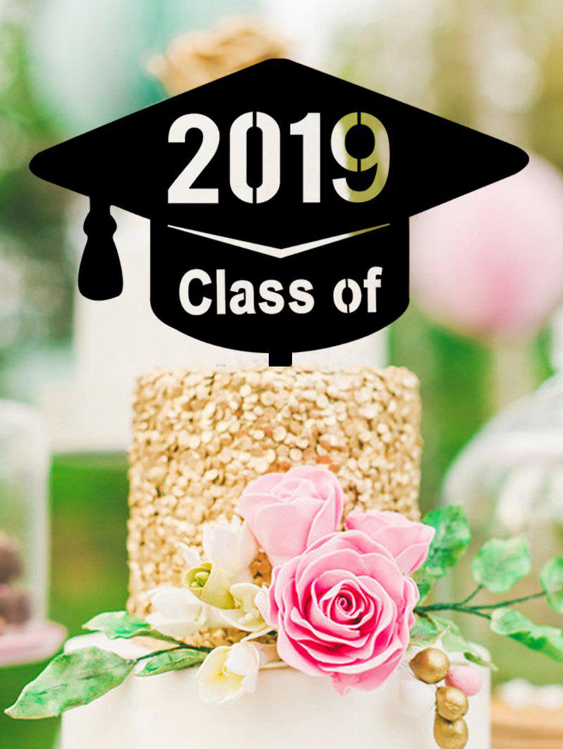 Discount 2019 Bachelor Hat Graduated Cake Sign Decoration