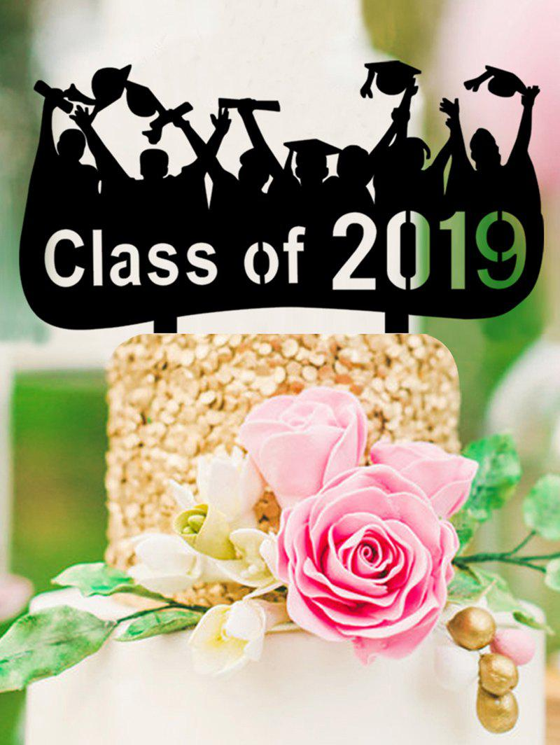 New Class of 2019 Cake Sign Decoration