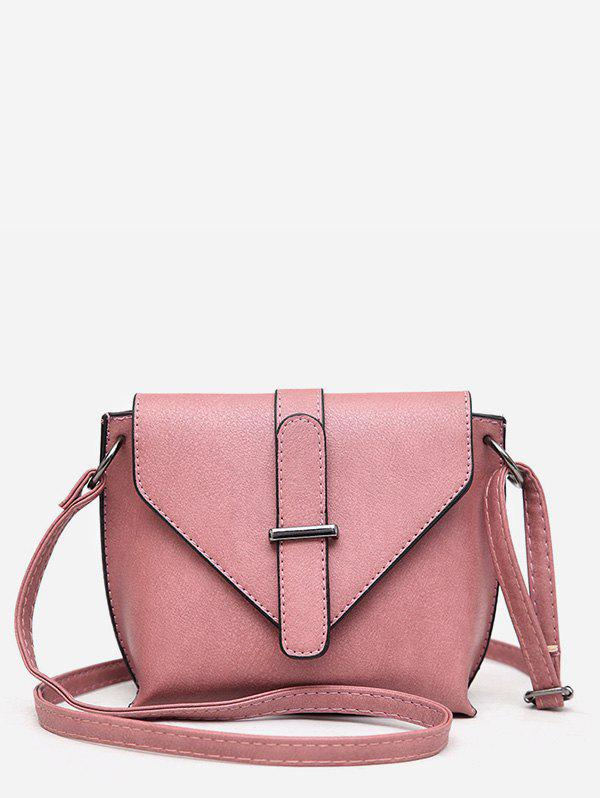 Online Simple Style Solid Leather Small Shoulder Bag