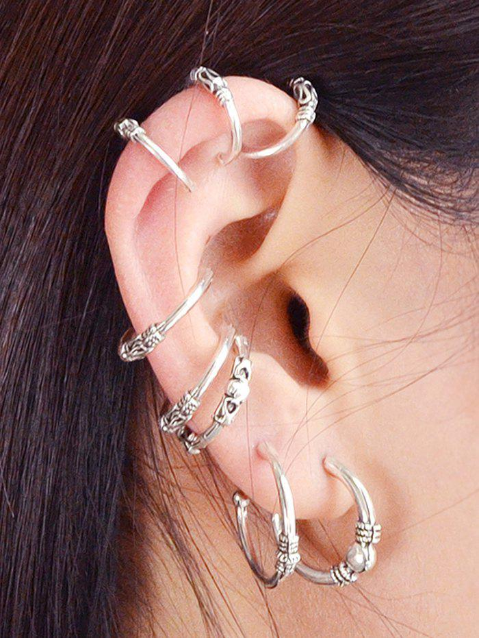 Sale Z Net ER-8043 Size C-shaped Earrings Eight-piece