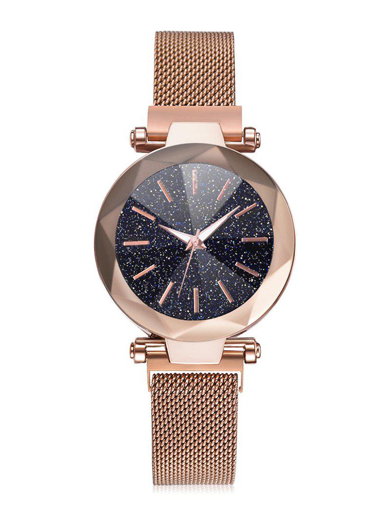 Hot Magnetic Buckle Starry Dial Quartz Watch