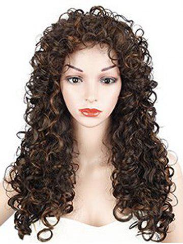 Long Curly Solid Synthetic Wig