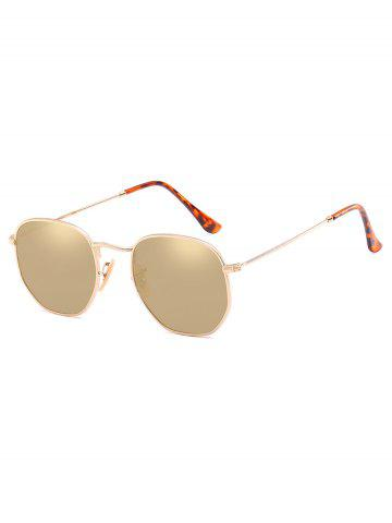 Irregular Vintage Polarized Sunglasses