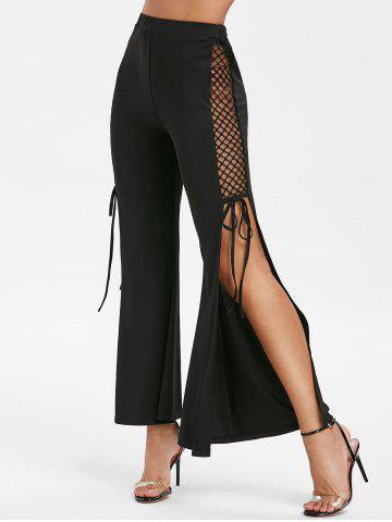 Side Slit High Rise Pants