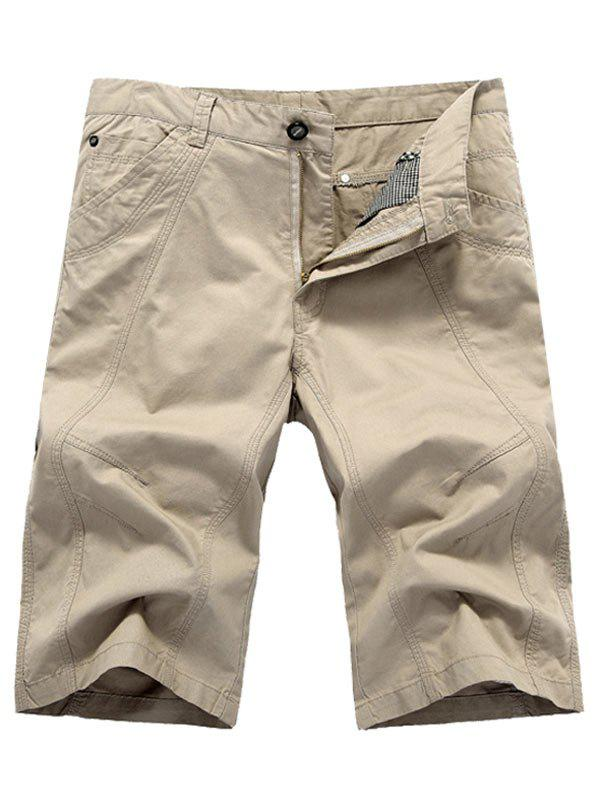 Online Leisure Style Cotton Cargo Shorts