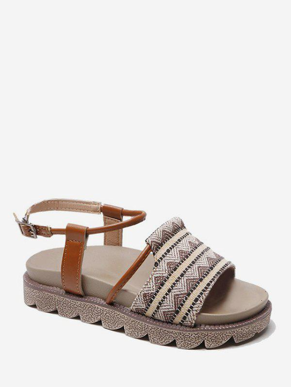 Shop Tribal Printed Decoration Sandals