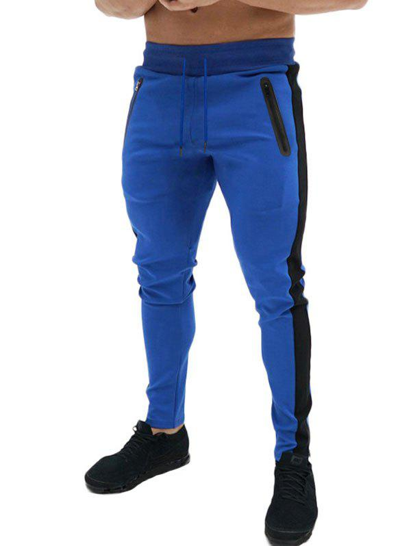 Outfits Zipper Decoration Casual Jogger Pants