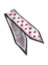 Houndstooth Heart Double Face Scarf -