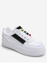 Rainbow Beads Platform Sports Shoes -