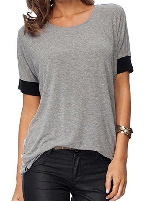 Best Marled Two Tone T-shirt