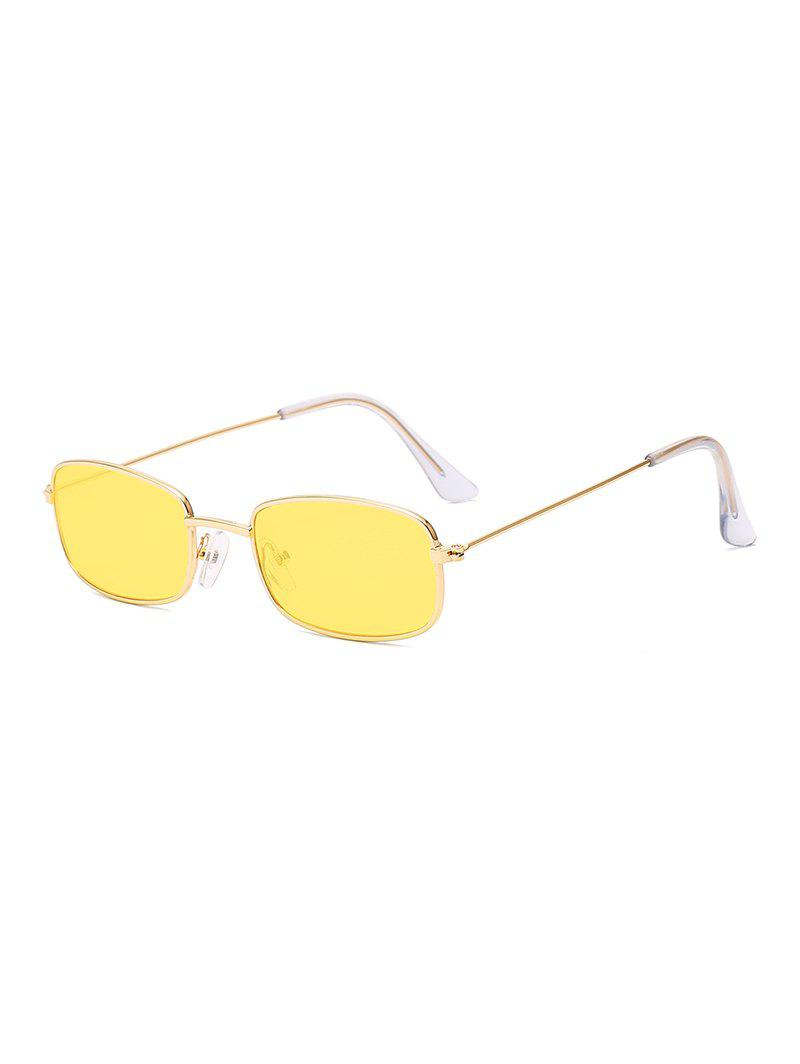 595ae5f93296a 36% OFF  Vintage Small Metal Frame Rectangle Frame Sunglasses