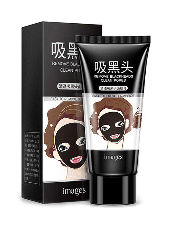 Shops Bamboo Charcoal Black Mask Peel Off Purifying Blackhead Remover