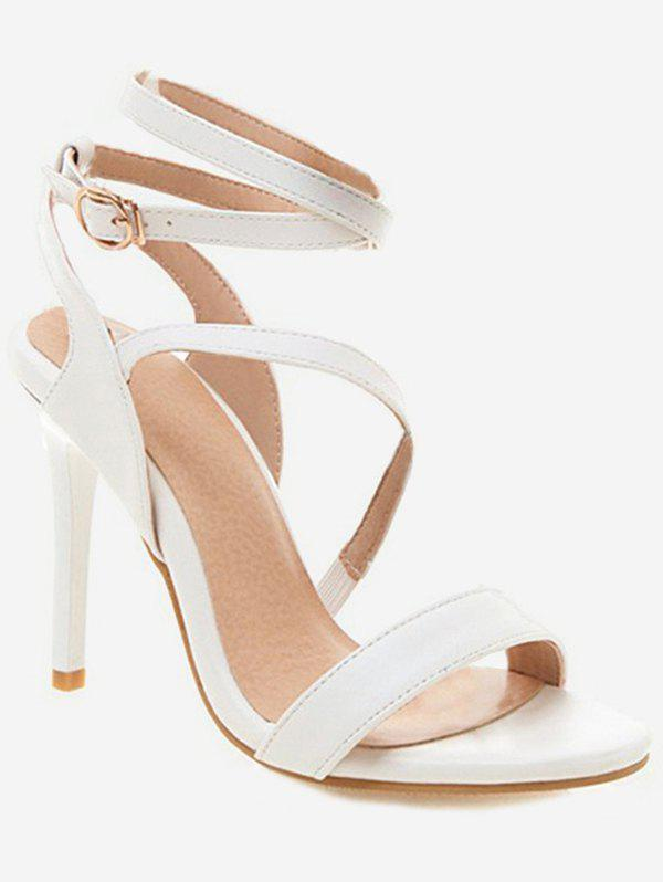 Latest Cross Strap Stiletto High Heel Sandals
