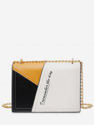 Character Jointed Square Shoulder Chain Bag -