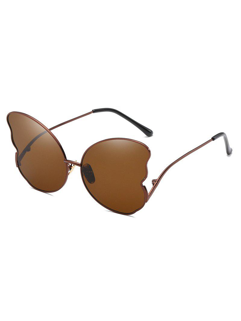 Affordable Butterfly Shape Metal Frame Stylish Sunglasses