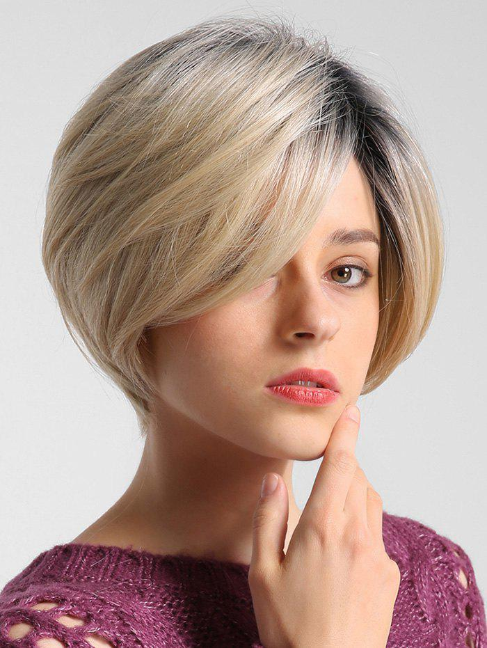 Shop Straight Medium Gradient Bob Human Hair Wig
