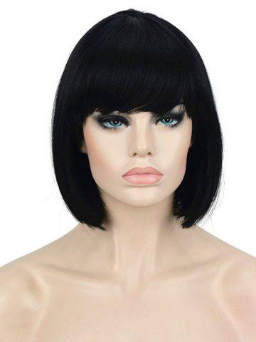 Full Bang Short Straight Bob Wig