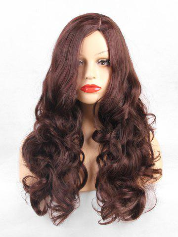 Long Side Part Loose Curly Synthetic Wig