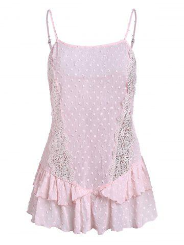 Cami Lace Insert Tank Top