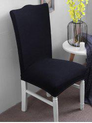 Solid Color Elastic Chair Cover -