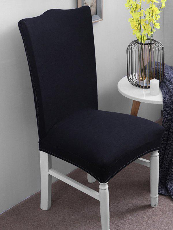 Buy Solid Color Elastic Chair Cover