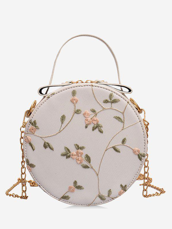 Affordable PU Leather Lace Crossbody Bag
