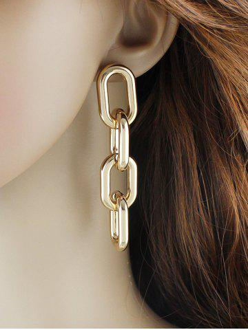 Punk Personality Thick Chain Earrings