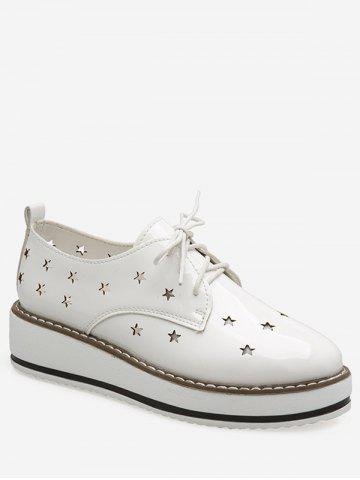 Hollowed Star Breathable Shoes