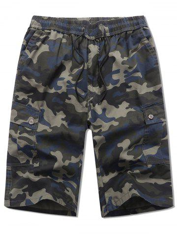 Camouflage Printed Casual Shorts